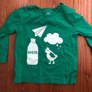 Kelly green milk boden shirt